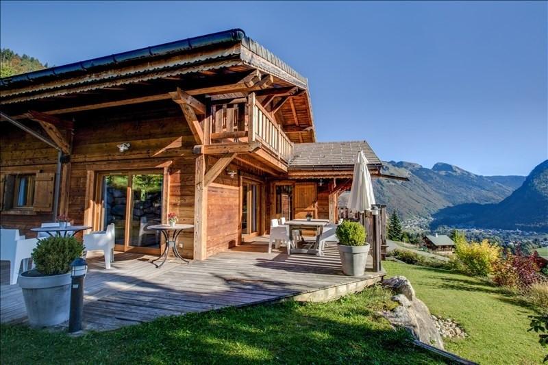 Verkoop van prestige  huis La cote d arbroz 1050000€ - Foto 1