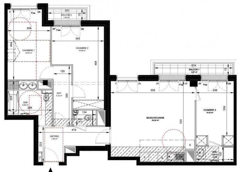 Vente appartement Levallois-perret 882000€ - Photo 2