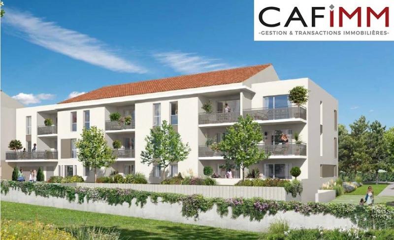 Champagne T3 70m² terrasse jardin cave stationnement