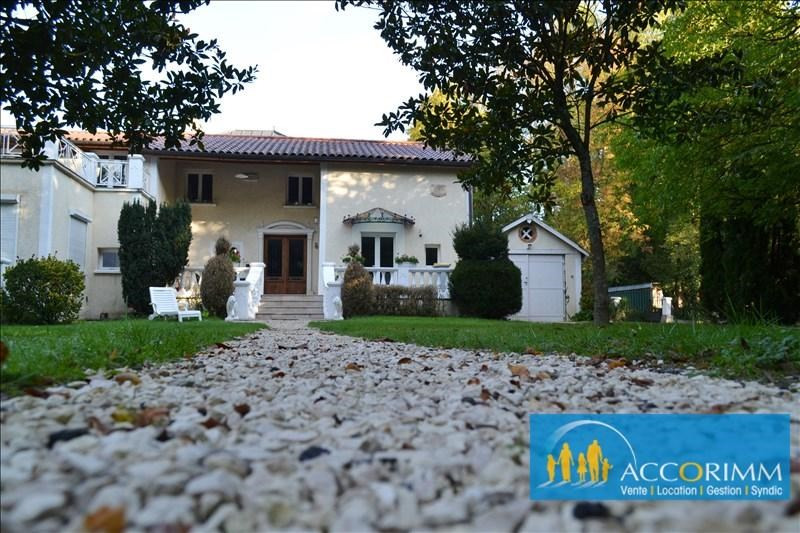 Vente de prestige maison / villa St just chaleyssin 539000€ - Photo 1