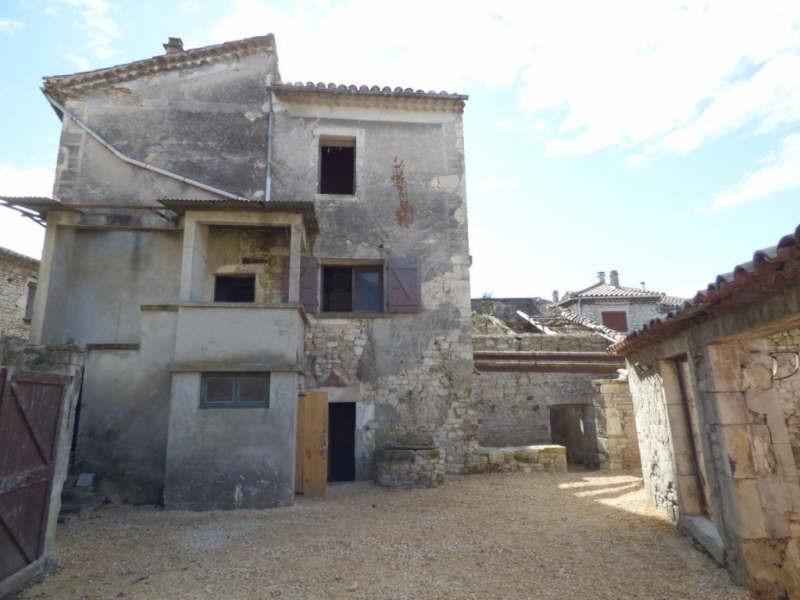 Venta  casa Barjac 79000€ - Fotografía 1