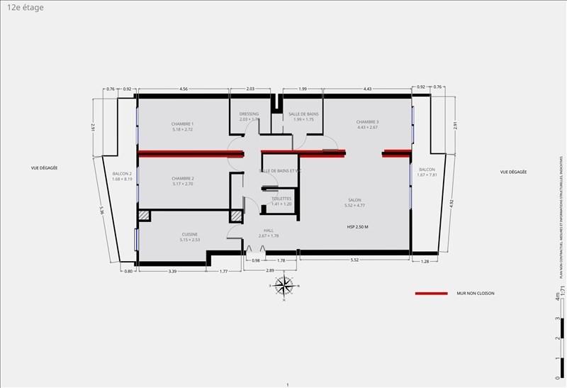 豪宅出售 公寓 Paris 15ème 1352000€ - 照片 9