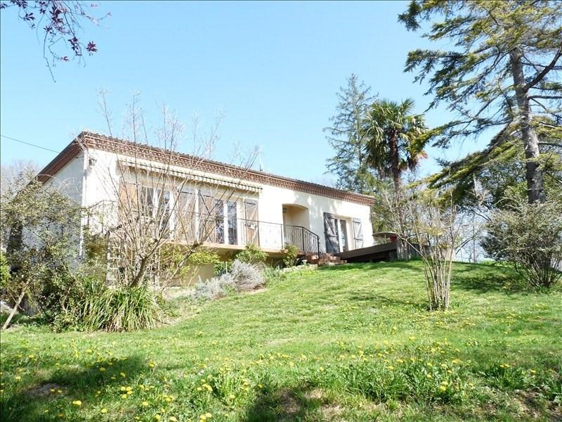 Sale house / villa St caprais de lerm 189000€ - Picture 1