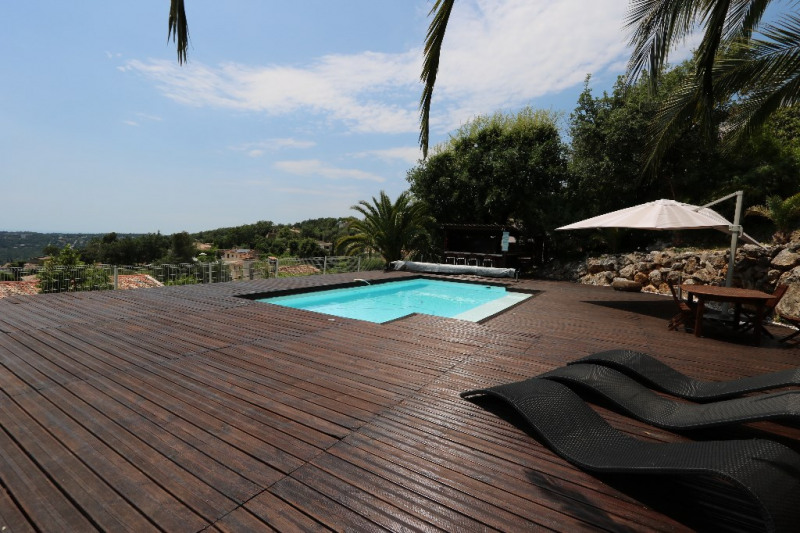 Deluxe sale house / villa Gattieres 830000€ - Picture 2
