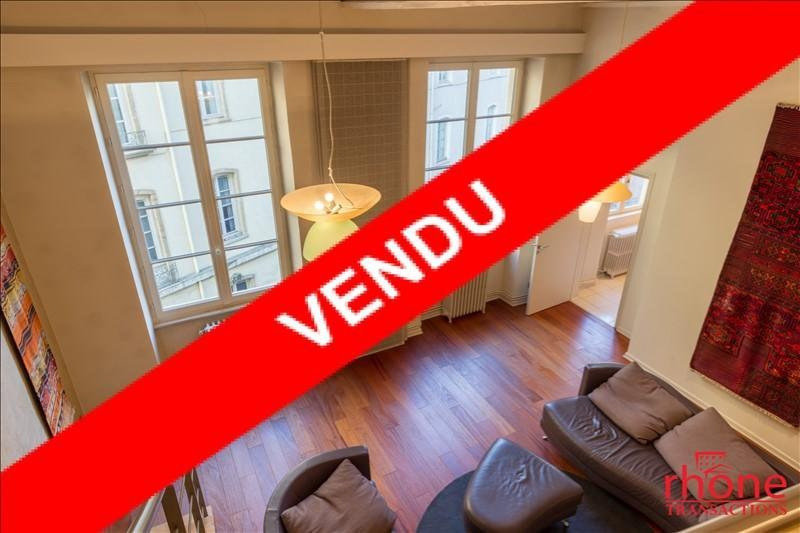 Venta  apartamento Lyon 1er 515000€ - Fotografía 1