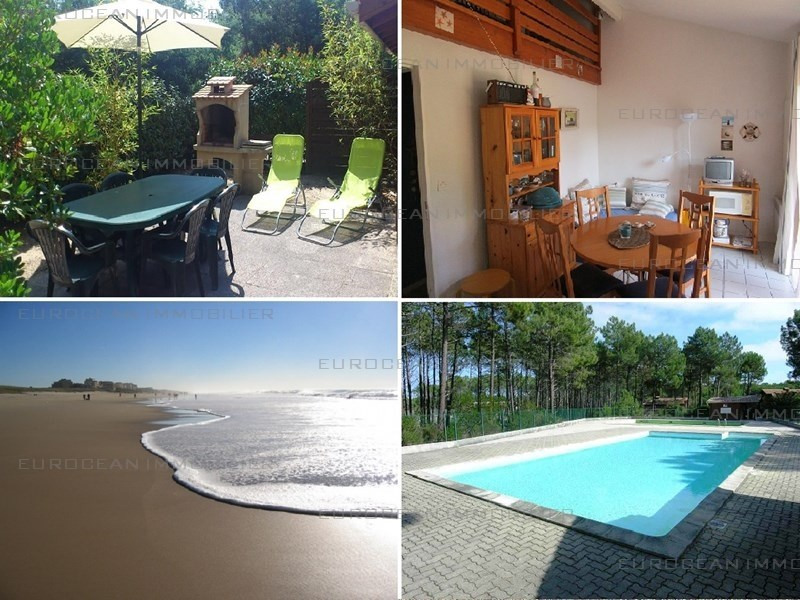 Location vacances maison / villa Lacanau ocean 285€ - Photo 1