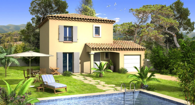 Maison  4 pièces + Terrain 600 m² Saint-Maximin-la-Sainte-Baume par VILLAS PRISME  DOMASUD VILLAS