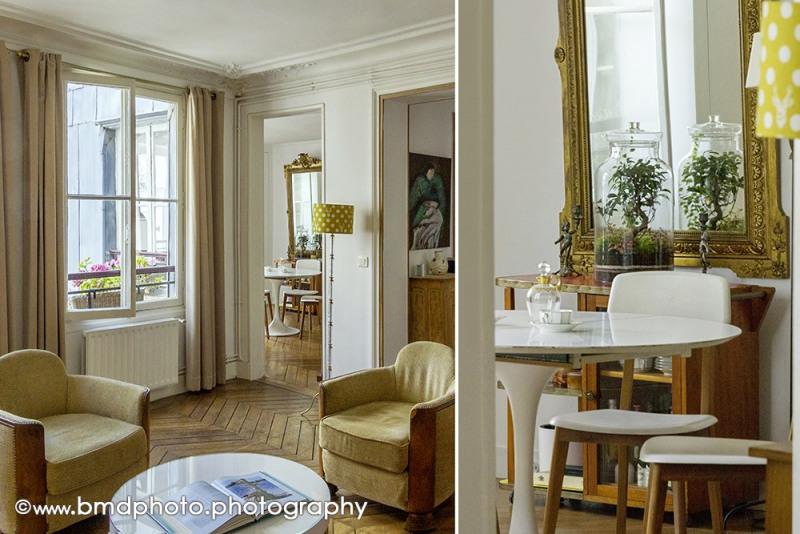 Vente de prestige appartement Paris 9ème 890000€ - Photo 4