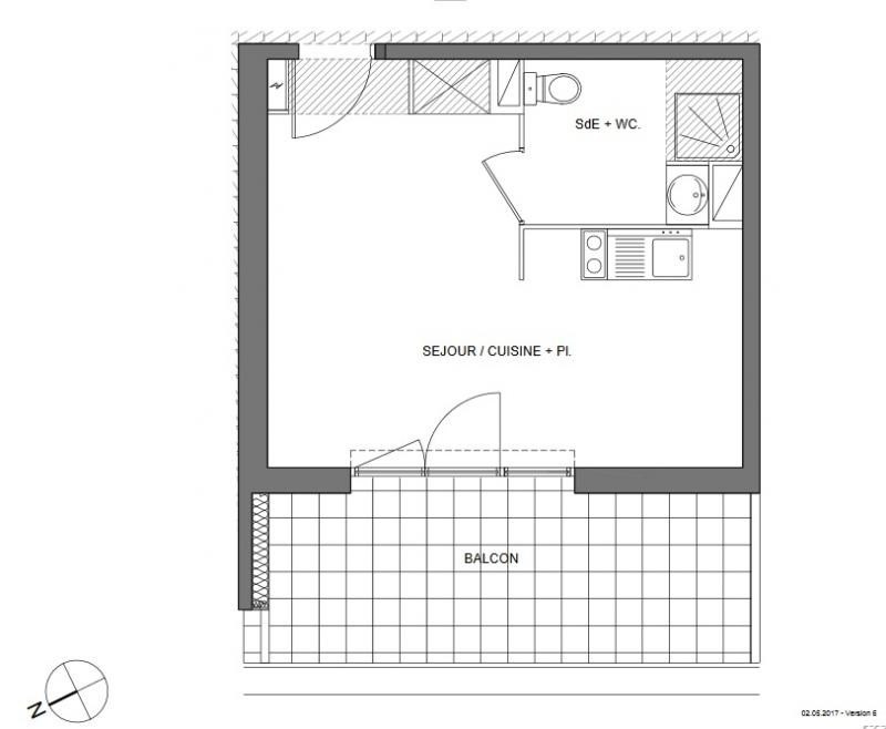 Sale apartment Montpellier 122000€ - Picture 3