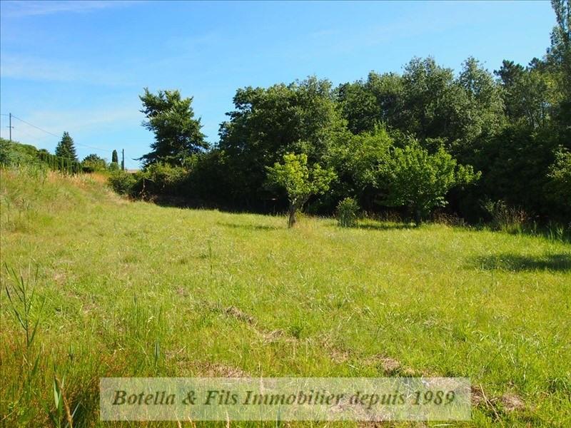 Verkoop  stukken grond Barjac 57000€ - Foto 5
