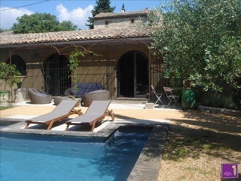 Sale house / villa Uzes 515000€ - Picture 1