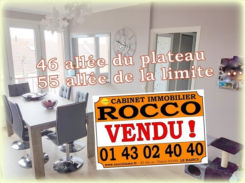 Sale apartment Le raincy 162 000€ - Picture 1
