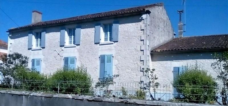 Vente maison / villa Nalliers 153700€ - Photo 1