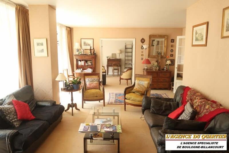 Revenda residencial de prestígio apartamento Boulogne billancourt 1190000€ - Fotografia 1