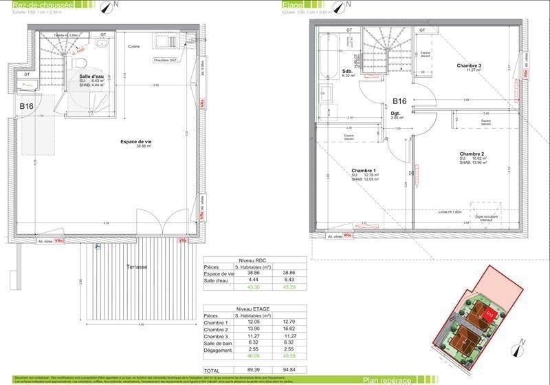 Sale apartment Vetraz monthoux 389000€ - Picture 2