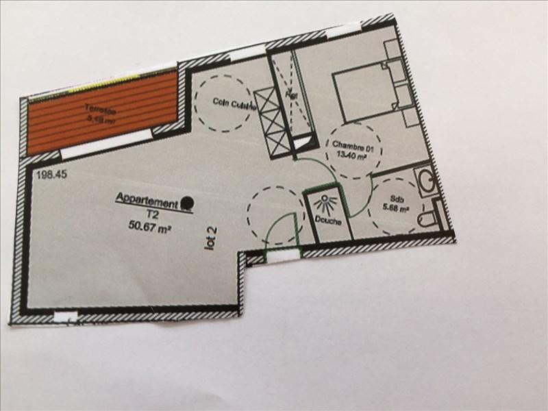 Vente de prestige appartement Charbonnieres les bains 273618€ - Photo 2