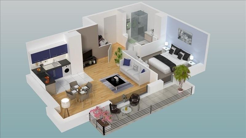 Vente appartement Dieppe 135000€ - Photo 2