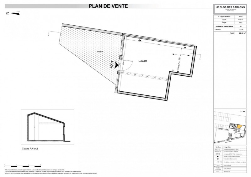 Sale apartment Linas 98123€ - Picture 3