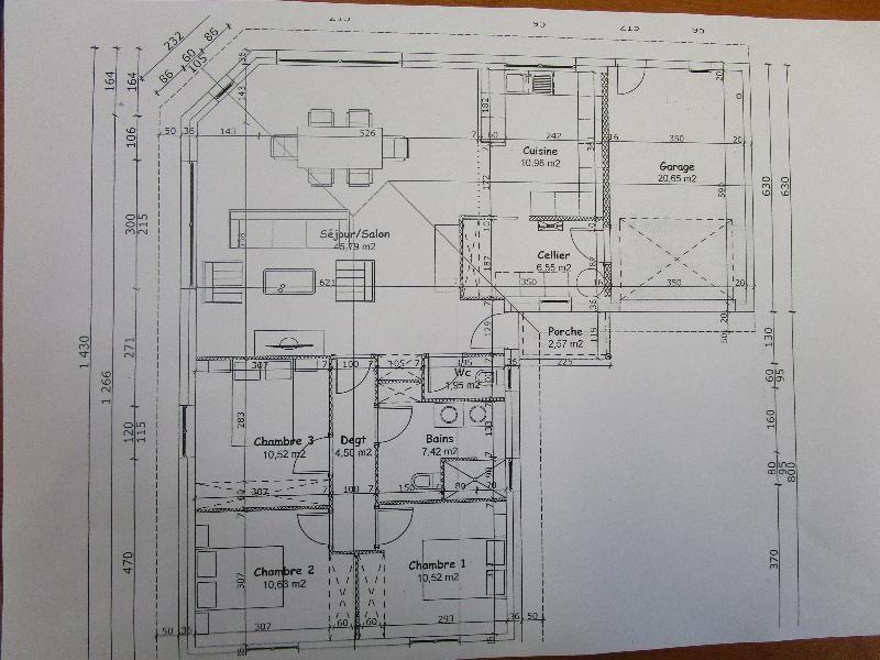 Vente maison / villa Benesse maremne 352000€ - Photo 5