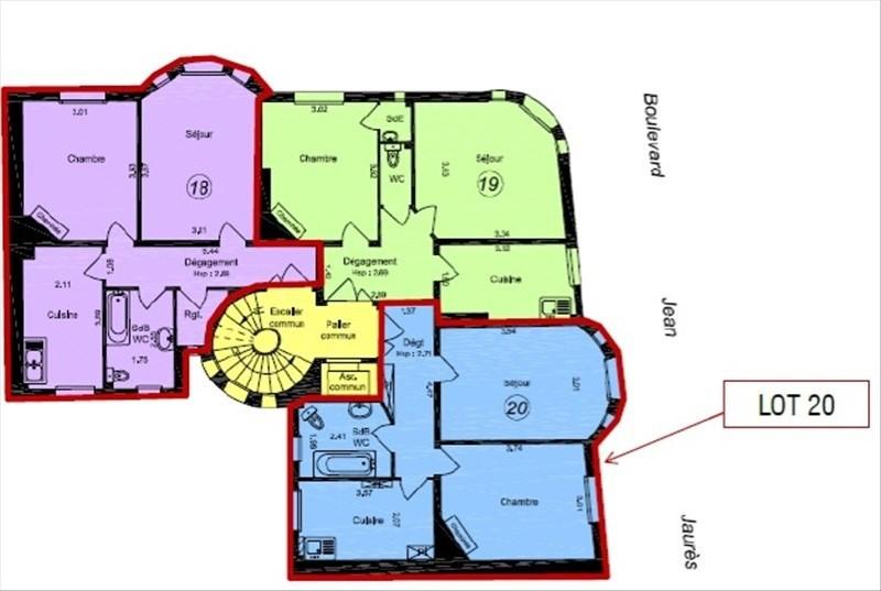Vente appartement Boulogne billancourt 320000€ - Photo 1
