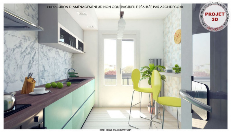 Vente appartement Colomiers 109 500€ - Photo 3