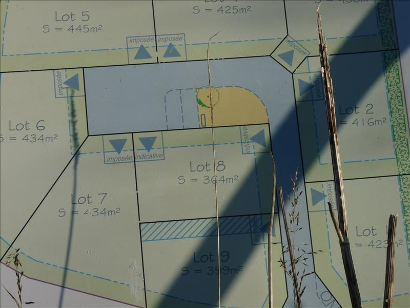Vente Terrain constructible 364m² Briec