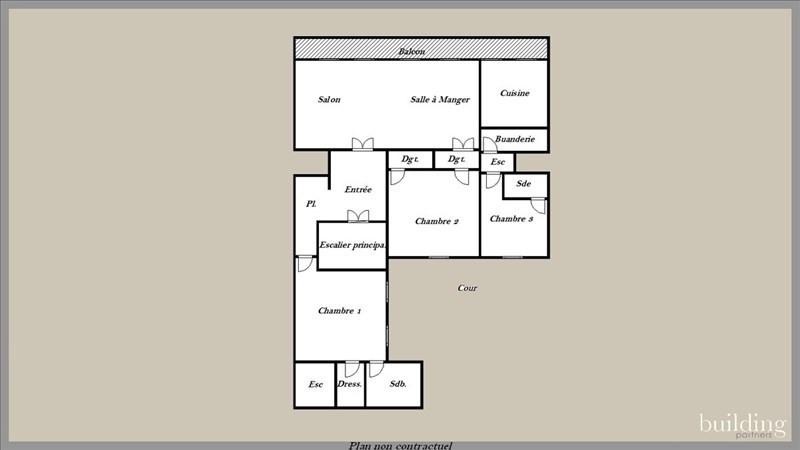 Vente de prestige Appartement 6 pièces 255m² Paris 17ème