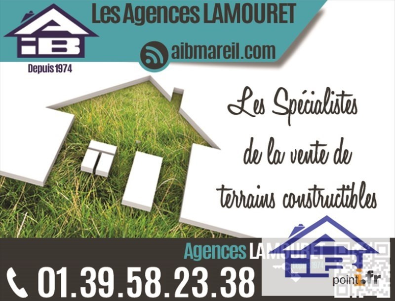 Vente terrain Mareil marly 460 000€ - Photo 1