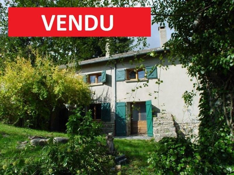 Sale house / villa St jean roure 87000€ - Picture 1