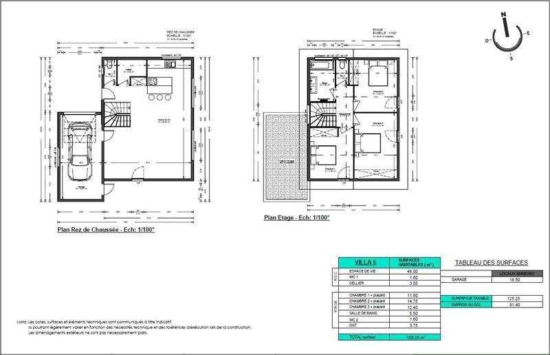 Sale house / villa Thyez 361025€ - Picture 2