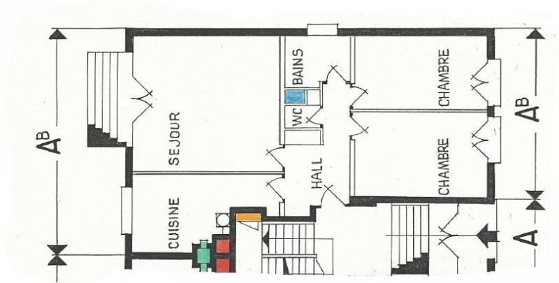 Life annuity apartment Montlignon 65000€ - Picture 3