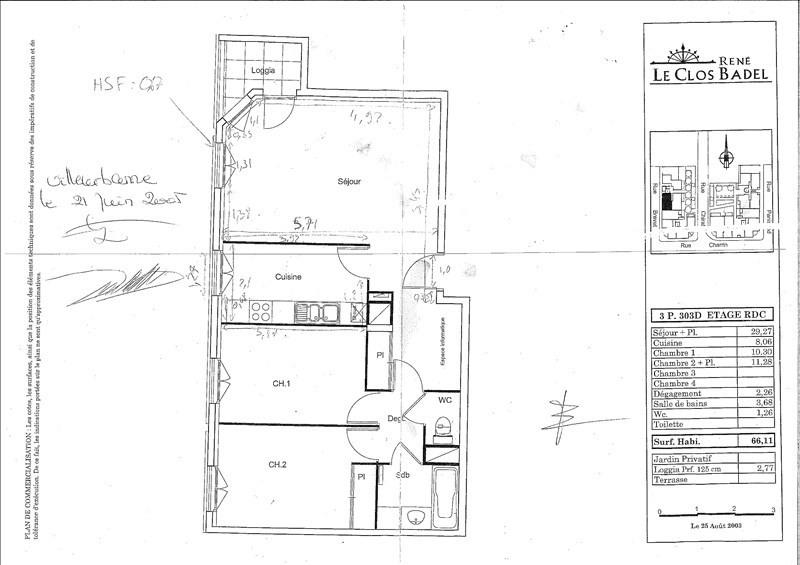 Venta  apartamento Villeurbanne 210000€ - Fotografía 6