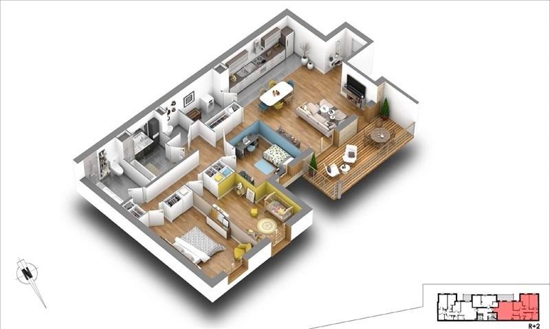 Vente appartement Courbevoie 919000€ - Photo 4