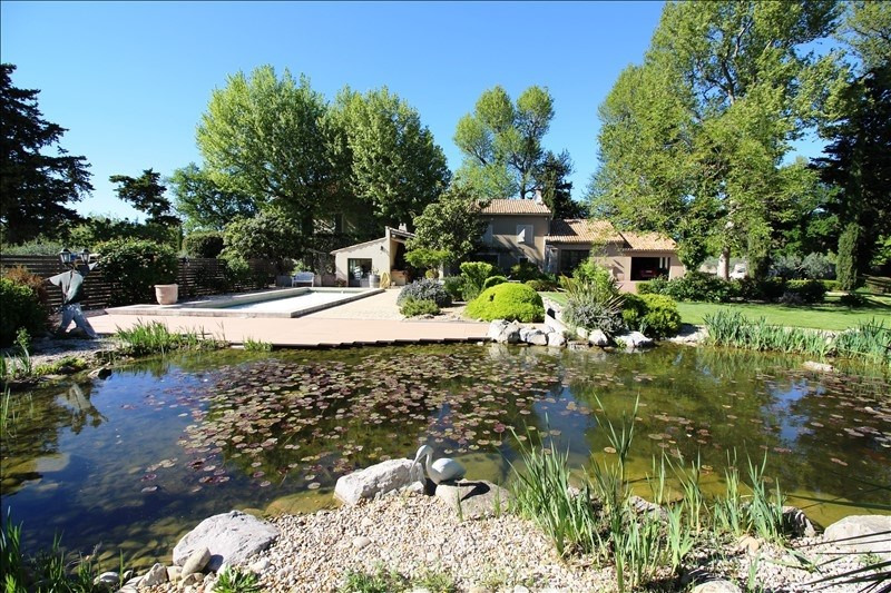 Vente de prestige maison / villa Jonquieres 630000€ - Photo 1