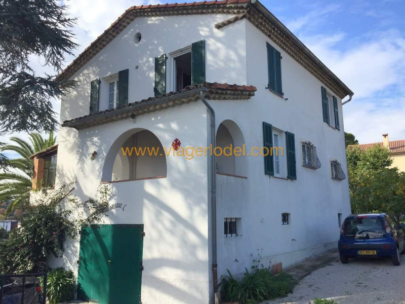 Life annuity house / villa Cagnes-sur-mer 169000€ - Picture 1
