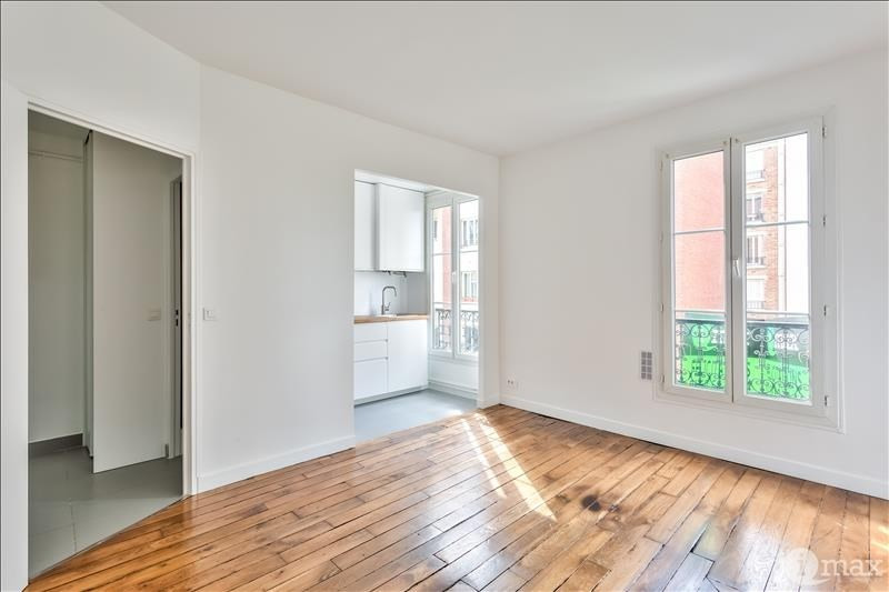 Sale apartment Paris 17ème 380000€ - Picture 1