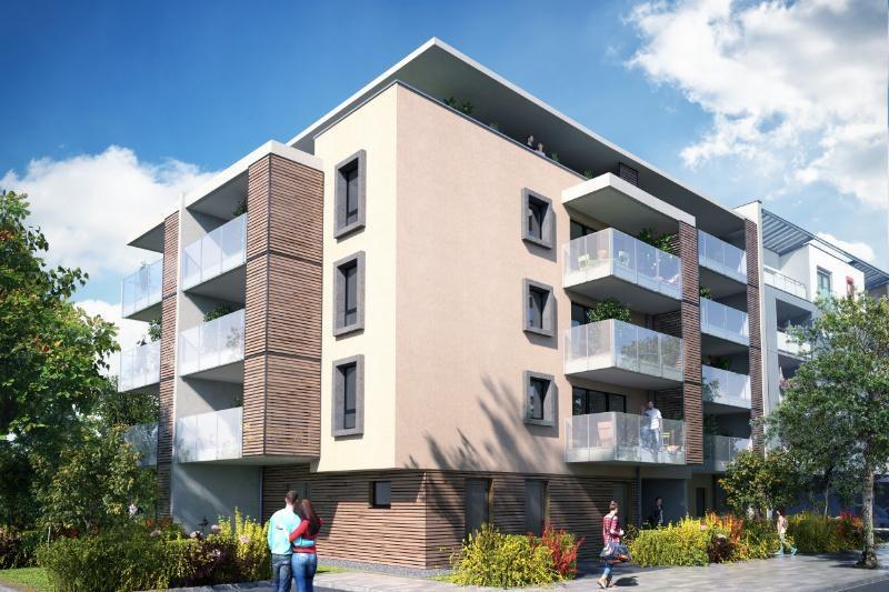 R sidence le malt programme immobilier neuf strasbourg for Residence immobilier