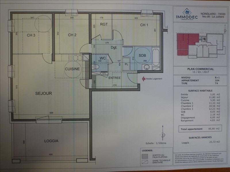 Venta  apartamento Nonglard 352000€ - Fotografía 3