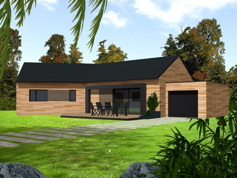 Maison  6 pièces + Terrain 806 m² Bazoches sur Guyonne par PRIMOBOIS