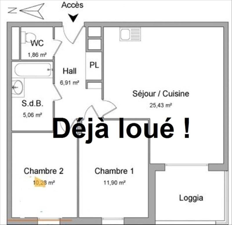 Location appartement Jassans riottier 729€ CC - Photo 1