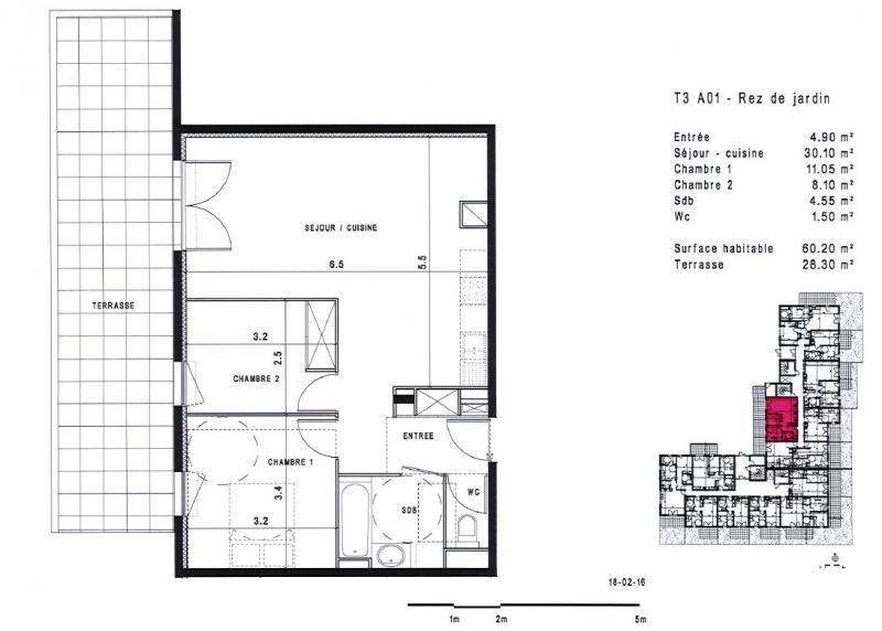 Vente appartement Montpellier 269000€ - Photo 2