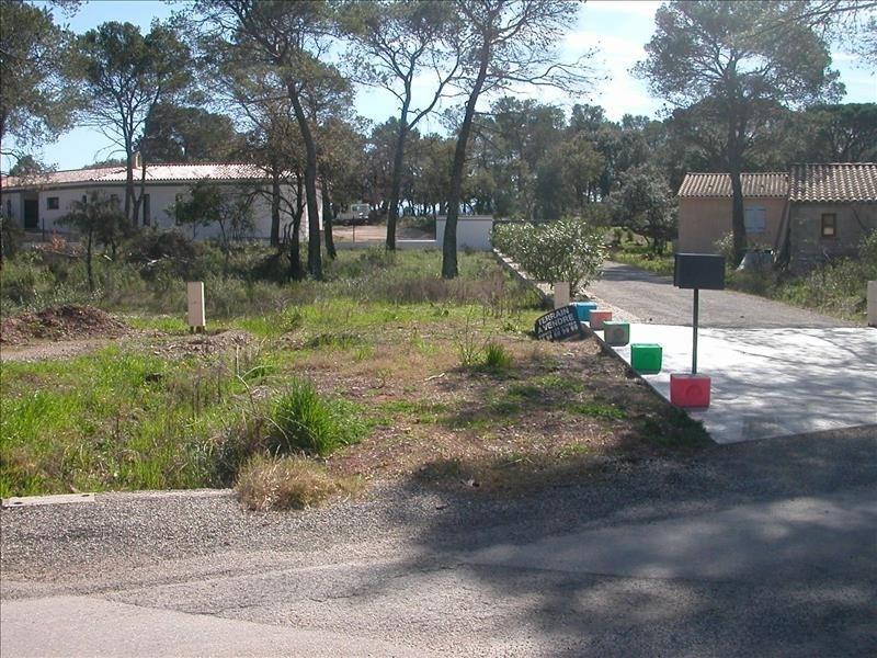 Vente terrain Le cannet des maures 148000€ - Photo 3