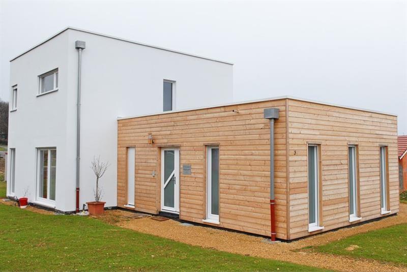 """Modèle de maison  """"Habitat mixte et professionnel"""" à partir de 6 pièces Haut-Rhin par INNOV'HABITAT"""