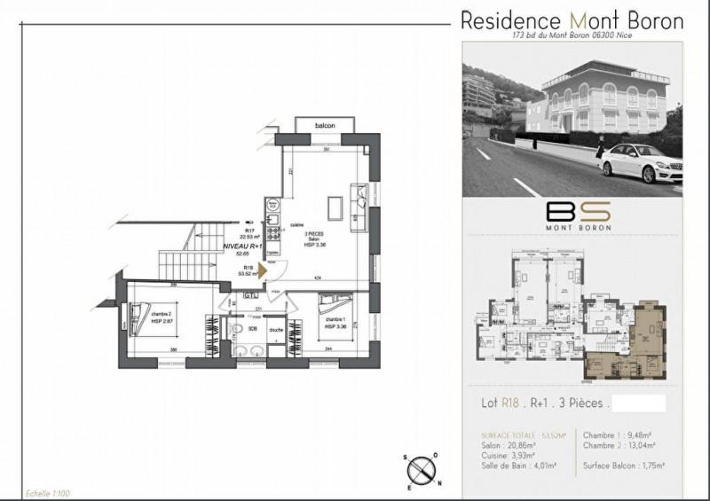 Vente appartement 06300 370000€ - Photo 2
