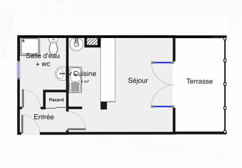 Location appartement Palaiseau 601€ CC - Photo 6