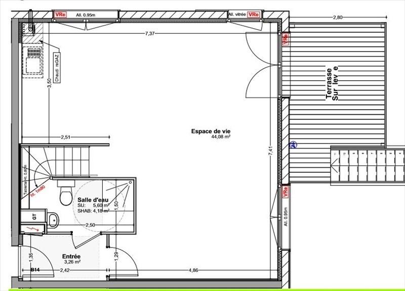 Sale house / villa Vetraz monthoux 460000€ - Picture 6