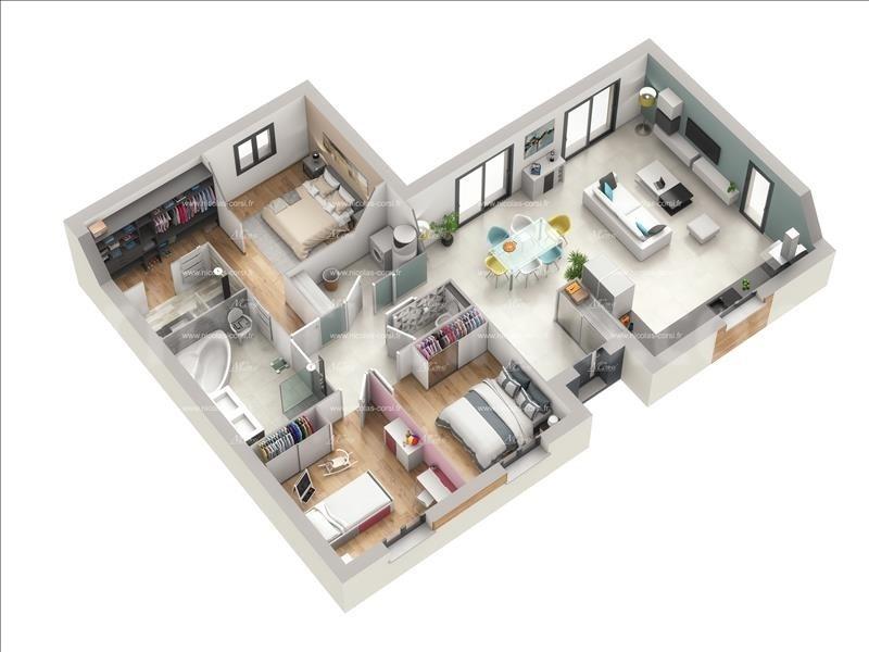 Vente maison / villa Ternay 318000€ - Photo 3