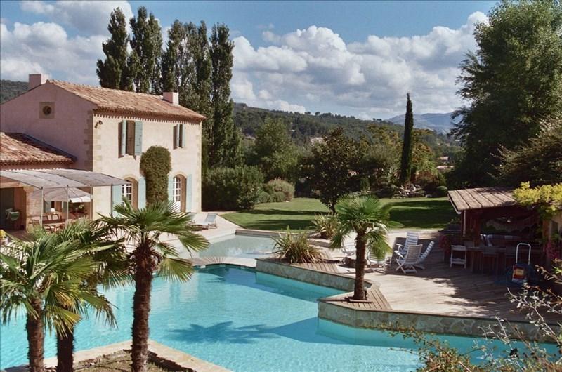 Verkauf von luxusobjekt haus Meyreuil 1950000€ - Fotografie 1