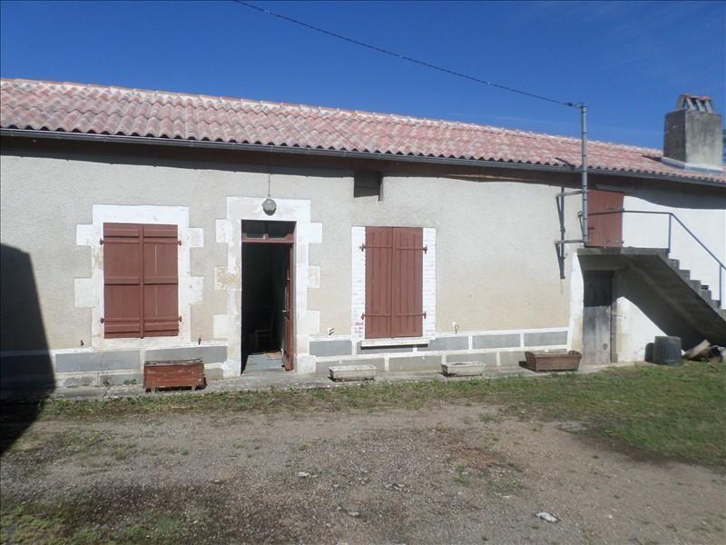 Vente maison / villa Lussac les chateaux 90000€ - Photo 9