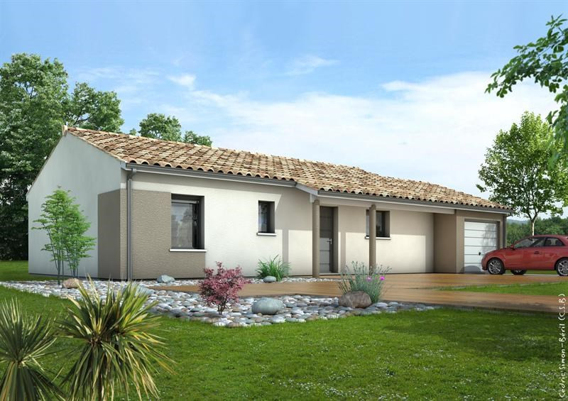 Maison  4 pièces + Terrain 856 m² Le Pian Médoc (33290) par LITTORAL HABITAT